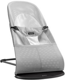 Baby Bjorn leżaczek Balance Soft Mesh srebrno-biały