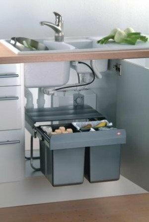 Peka Kosz na odpady do 50 2-komorowy (09.081.A)