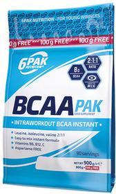 6PAK Nutrition 6Pak Nutrition Bcaa Pak Aminokwasy 900 G