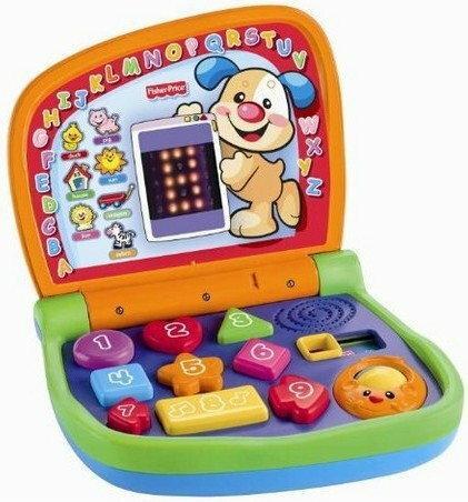 Fisher Price Gadający laptop dwujęzyczny V7000
