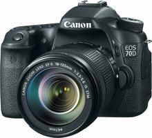 Canon EOS 70D + 18-135mm czarny
