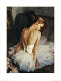 Baletnica - Obraz, reprodukcja