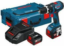 Bosch Wiertarko-wkrętarka udarowa GSB 14,4 V-li 2x4Ah Lboxx GSB 14,4 V-li 4ah