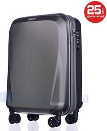 Puccini Mała kabinowa walizka LONDON PC019C 4 Szara - szary PC019C 4