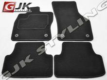 GJK Styling Dywaniki welurowe czarne standard Volkswagen Golf VII od 2012 VW GOL