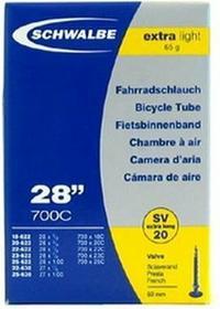 Schwalbe Dętka 28 szosowa 700x18/25C EXTRA LIGHT 65g.