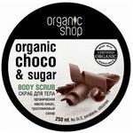 Organic Shop Organiczny Scrub Do Ciała Belgijska Czekolada 250ml
