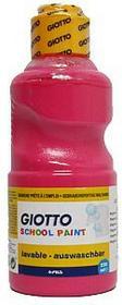 Giotto Farba szkolna 500 ml różowa