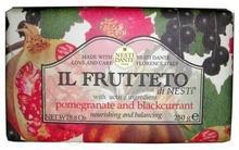 NESTI DANTE Il Frutteto- Mydło na bazie Granatu i Czarnej Porzeczki 250gr