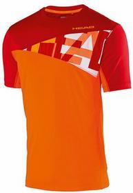 Head Koszulka Chłopięca Arne B T-Shirt - orange