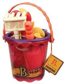 B.Toys zabawki do piaskownicy średnie z akcesoriami do piasku ? czerwone BX1331