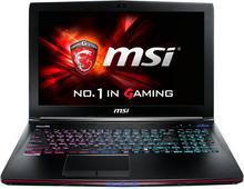 "MSI GE62 2QE-051XPL 15,6"", Core i7 2,6GHz, 8GB RAM, 1000GB HDD (GE62 2QE-051XPL)"