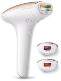 Philips Lumea Advanced sc1999/00IPL-zmywaczem do włosów, pracuje z czujnikiem światła impulsów, dla skóry, strefa bikini do ciała i twarzy, 250.000Impulse, z SC1999/00