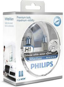 Philips H1 12V 55W WHITE VISION SM sztuk 2 12258WH SET2