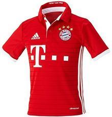 adidas Adidas Koszulka Piłkarska Dziecięca Fc Bayern Monachium, Wersja Domowa, 2016/2017, 128 Cm