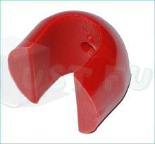 Just Fun Łącznik ścienny  16 mm do liny zbrojonej - czerwony