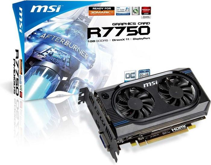 MSI R7750-PMD1GD5/OC