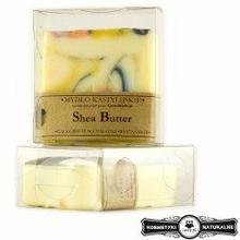Mydło w kostce kastylijskie shea butter - Czyste mydło 100g