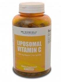 DR MERCOLA Dr. Mercola Liposomalna witamina C - 180 kapsułek