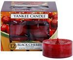 Yankee Candle Black Cherry 12 x 9.8 g świeczka typu tealight