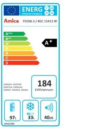 Amica FD206.3