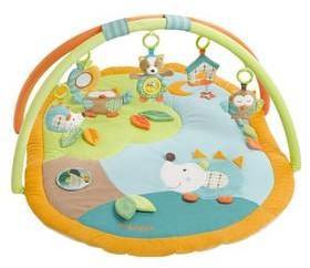 Fehn Mata edukacyjna dla dzieci Baby Forest 3D activity plyąová