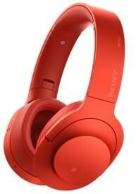 Sony MDR-100ABNP Czerwony