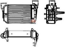 NRF Chłodnica powietrza doładowującego - intercooler 30753