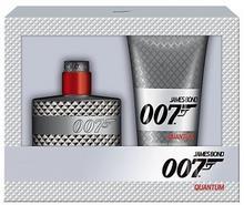 James Bond 007 Quantum M Zestaw perfum Edt 50ml + 150ml Żel pod prysznic