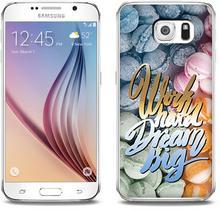 Etuo.pl Fantastic Case - Samsung Galaxy S6 - etui na telefon Fantastic Case - work hard dream big ETSM172FNTCFC059000