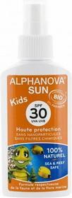Alphanova Sun Bio Spray przeciwsłoneczny SPF30+ dla dzieci 125ml
