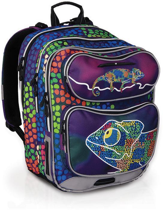 bb2d6325605ae Topgal Plecak szkolny CHI 602 D - Chameleon Blue - Ceny i opinie na  Skapiec.pl