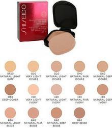 Shiseido Advanced Hydro-Liquid w kamieniu (Refill) Flawles, Radiant Coverage Founda