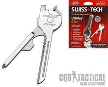 Swiss Tech Multitool Utili-Key 6 w 1 ST66676