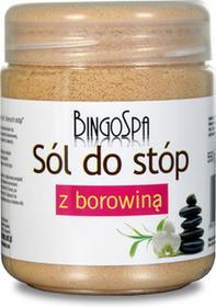 Bingo Sól do stóp rozgrzewająca z borowiną 550g