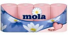 Mola ANDER Papier toaletowy kolor mix 8 sztuk NI001