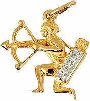 Tyfanit Złoty znak zodiaku - strzelec ZZ9