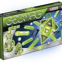 GeoMag Geomag Glow, Klocki magnetyczne, 104 elementy