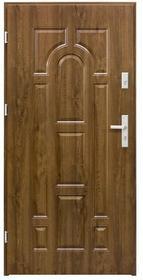 Splendoor Drzwi zewnętrzne  Rubin 90 lewe orzech