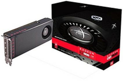 XFX RX karta graficzna firmy 480m4bfa6PCI-Express 3.0Czarny RX-480M4BFA6