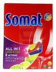 Somat All in 1 Tabletki do zmywarek Lemon & Lime 52 szt.