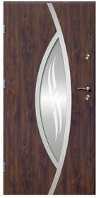 O.K.Doors Drzwi zewnętrzne  Otto Ellise 90 lewe orzech