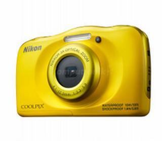 NikonCoolpix W100 żółty