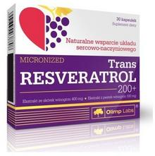 Olimp Trans Resveratrol 200+ 30 kaps OLIMPTRRESV