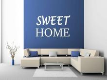 Naklej-to.pl Sweet home naklejka napis na ścianę