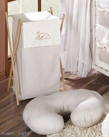 Mamo-Tato Kosz na bielizn śpiący miś w brązie
