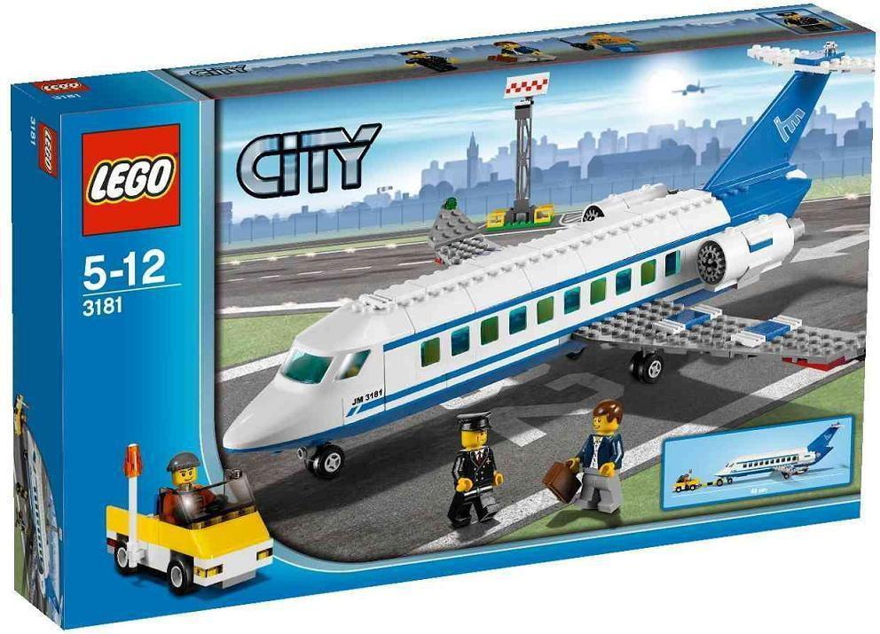 LEGO Samolot pasażerski 3181