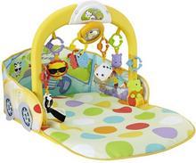 Fisher Price Mattel Wesoły samochodzik 3w1 mata edukacyjna