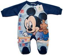 Disney MICKEY Myszka Mickey Śpiochy dla niemowląt Granatowy