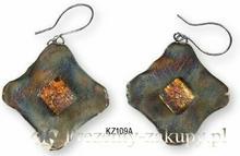 KOGATA - MURANO GLASS Kolczyki wiszące MURANO GLASS KZ109A